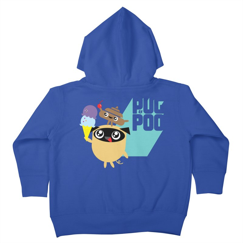 Cherry On Top Kids Toddler Zip-Up Hoody by Rick Hill Studio's Artist Shop