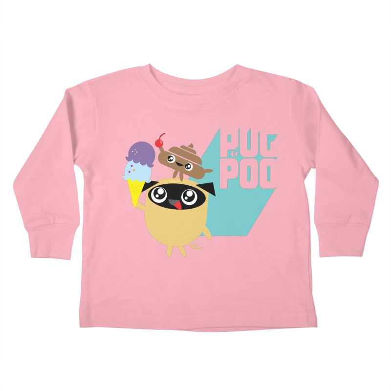Cherry On Top Kids Toddler Longsleeve T-Shirt by Rick Hill Studio's Artist Shop
