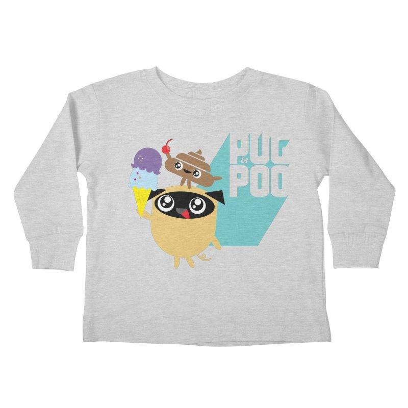 Cherry On Top Kids Toddler Longsleeve T-Shirt by Rick Hill Studio's Artist Shop