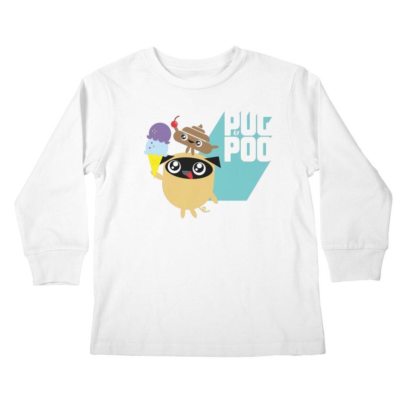 Cherry On Top Kids Longsleeve T-Shirt by Rick Hill Studio's Artist Shop