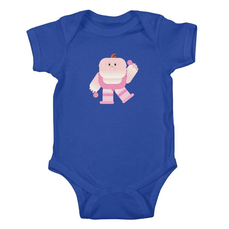 Big Baby LeRoy Kids Baby Bodysuit by Rick Hill Studio's Artist Shop