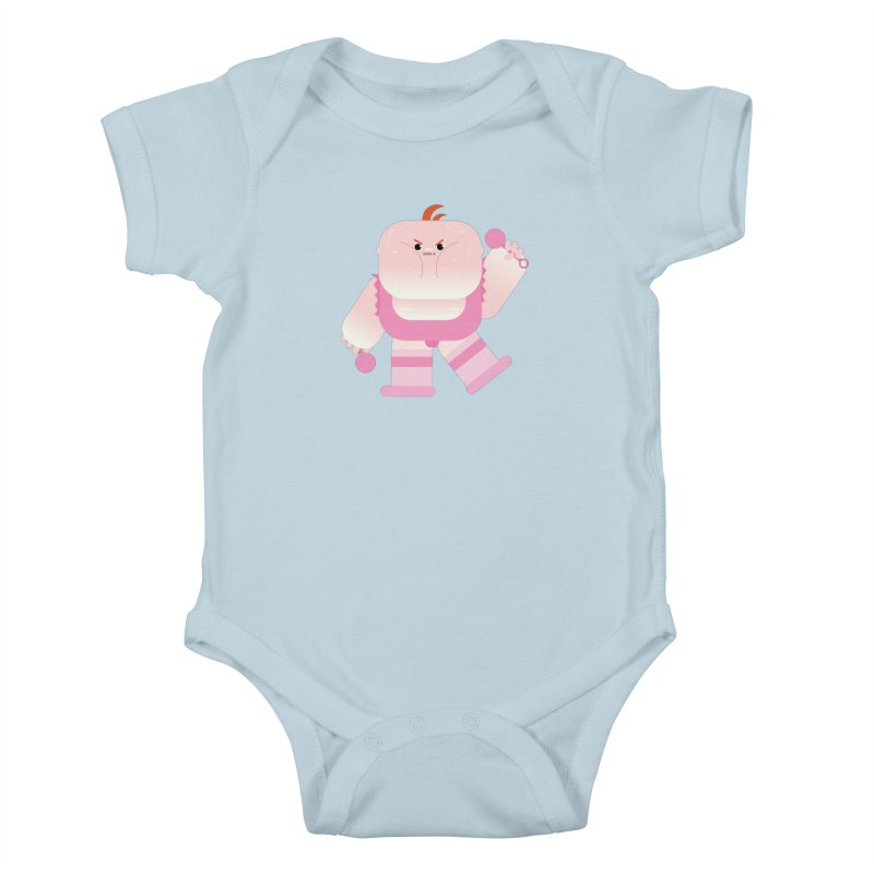 Big Baby LeRoy Kids Baby Bodysuit by Rick Hill Studio's Artist Shop