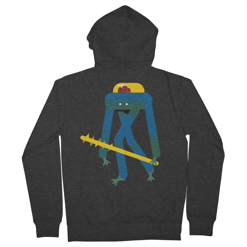 The Red Ghost Brothers Women's French Terry Zip-Up Hoody by Rick Hill Studio's Artist Shop