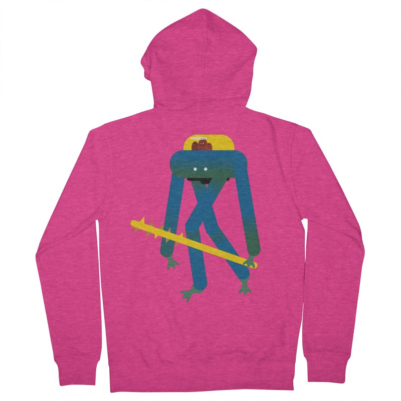 The Red Ghost Brothers Women's Zip-Up Hoody by Rick Hill Studio's Artist Shop