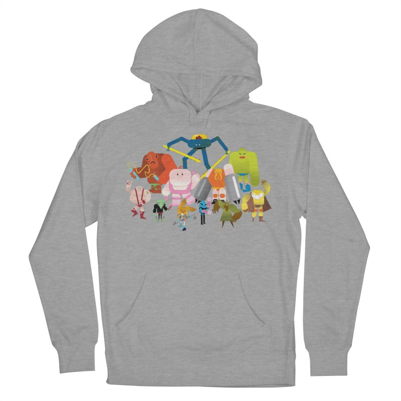 The League Women's Pullover Hoody by Rick Hill Studio's Artist Shop