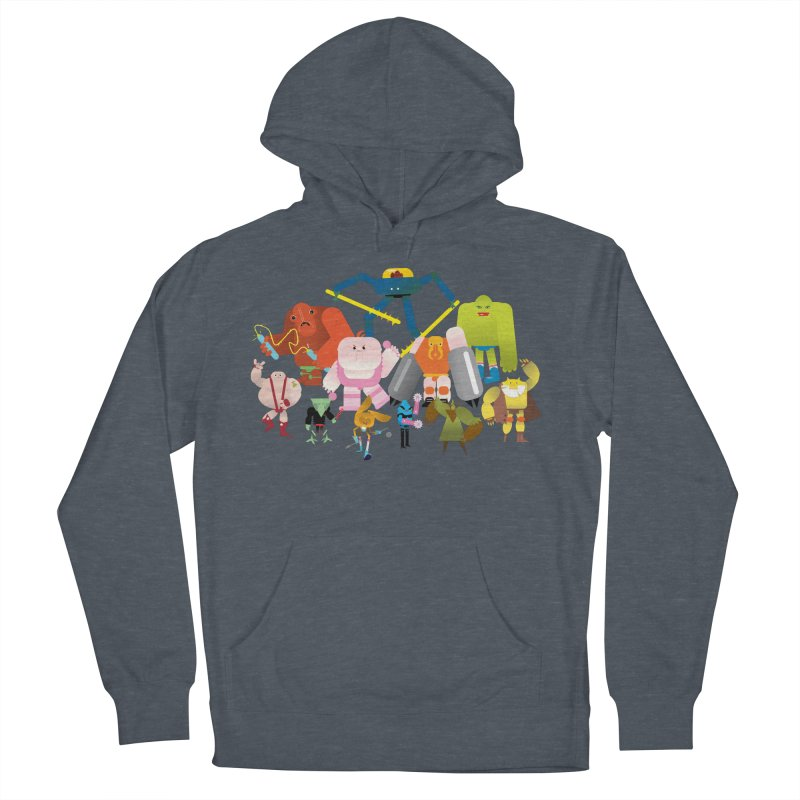 The League Men's Pullover Hoody by Rick Hill Studio's Artist Shop