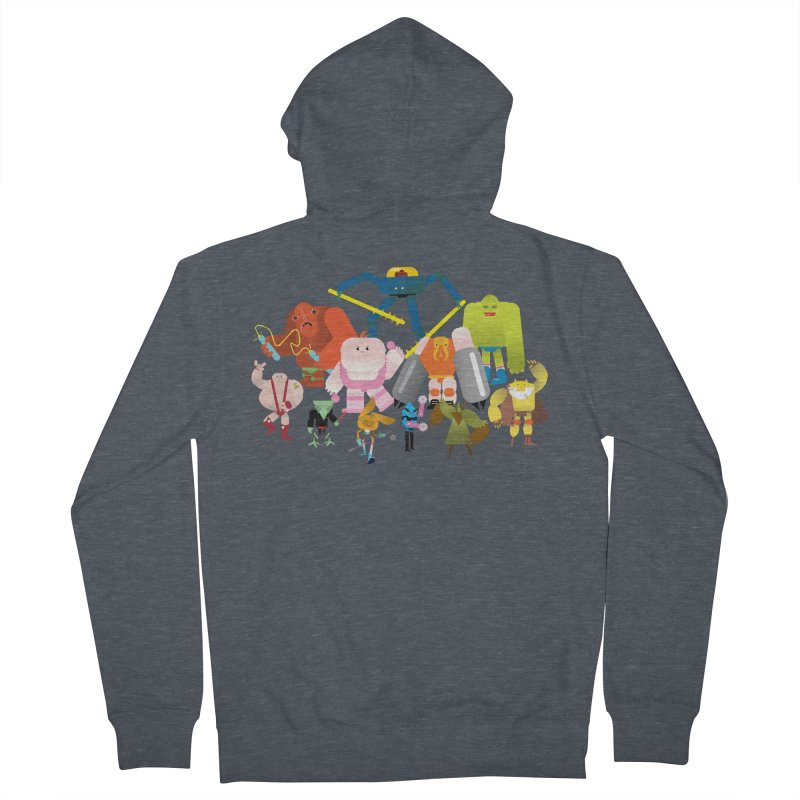 The League Women's French Terry Zip-Up Hoody by Rick Hill Studio's Artist Shop