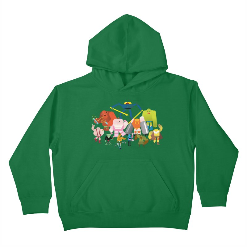 The League Kids Pullover Hoody by Rick Hill Studio's Artist Shop