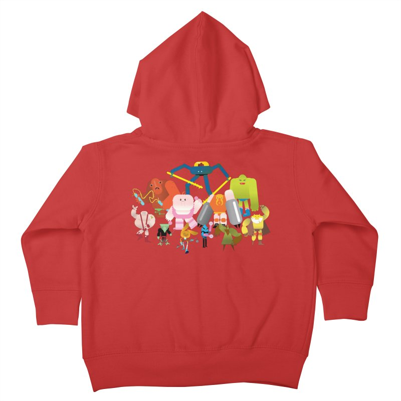 The League Kids Toddler Zip-Up Hoody by Rick Hill Studio's Artist Shop