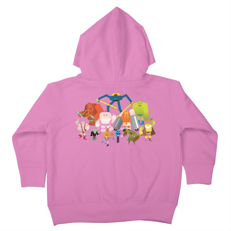 The League Kids Toddler Zip-Up Hoody by Rick Hill Studio's Artist Shop