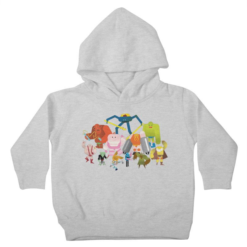 The League Kids Toddler Pullover Hoody by Rick Hill Studio's Artist Shop