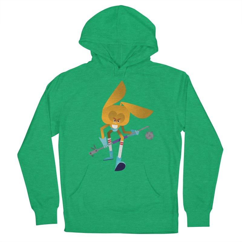 The Rabbit Men's Pullover Hoody by Rick Hill Studio's Artist Shop
