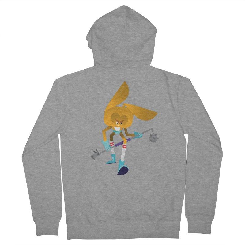 The Rabbit Women's Zip-Up Hoody by Rick Hill Studio's Artist Shop