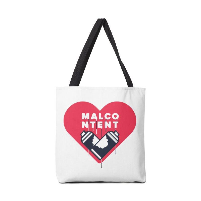 MALCONTENT Graffiti Accessories Bag by Rick Pinchera's Artist Shop
