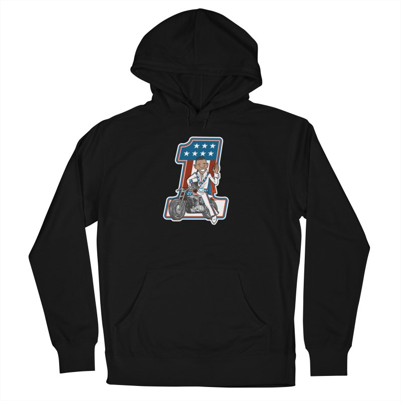 The President Men's French Terry Pullover Hoody by Rick Pinchera's Artist Shop