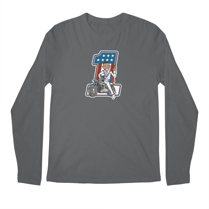 The President Men's Longsleeve T-Shirt by Rick Pinchera's Artist Shop