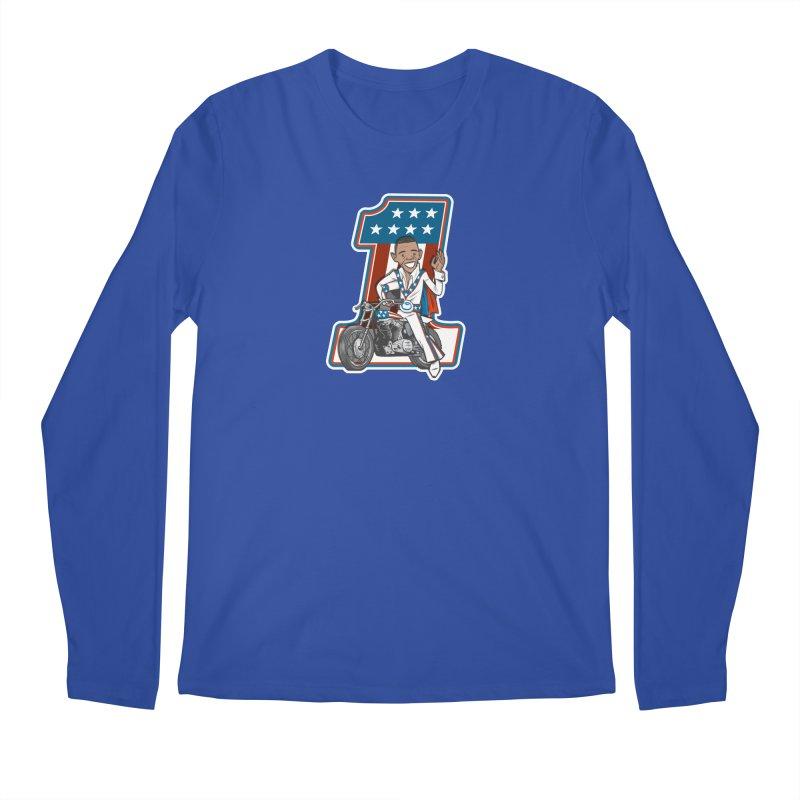 The President Men's Regular Longsleeve T-Shirt by Rick Pinchera's Artist Shop