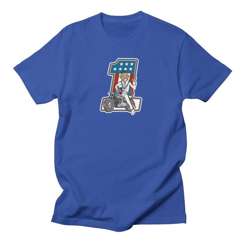 The President Men's Regular T-Shirt by Rick Pinchera's Artist Shop
