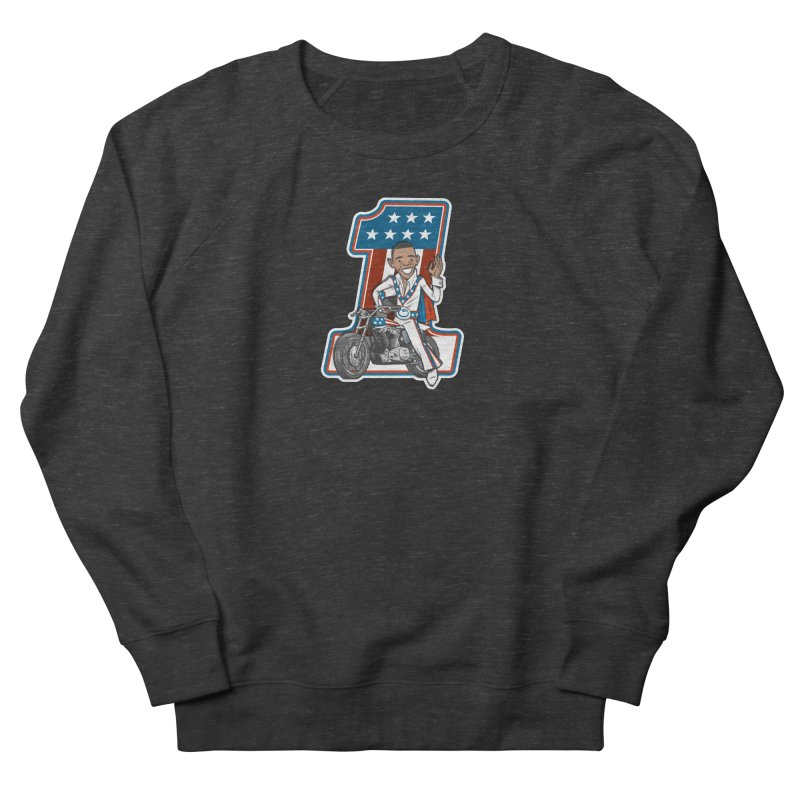 The President Men's French Terry Sweatshirt by Rick Pinchera's Artist Shop
