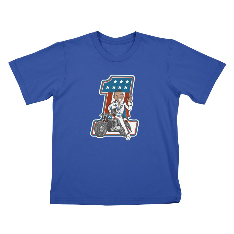 The President Kids T-Shirt by Rick Pinchera's Artist Shop
