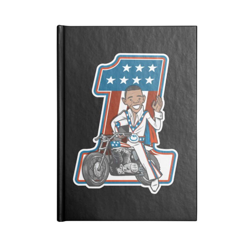 The President Accessories Lined Journal Notebook by Rick Pinchera's Artist Shop
