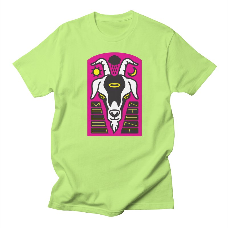 MALCONTENT Goat Men's T-Shirt by Rick Pinchera's Artist Shop