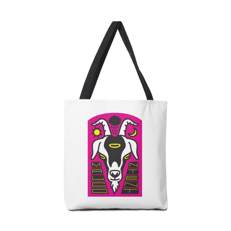 MALCONTENT Goat Accessories Bag by Rick Pinchera's Artist Shop