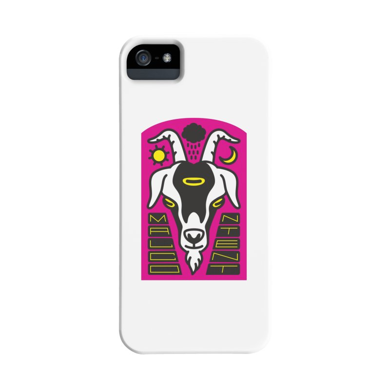MALCONTENT Goat Accessories Phone Case by Rick Pinchera's Artist Shop