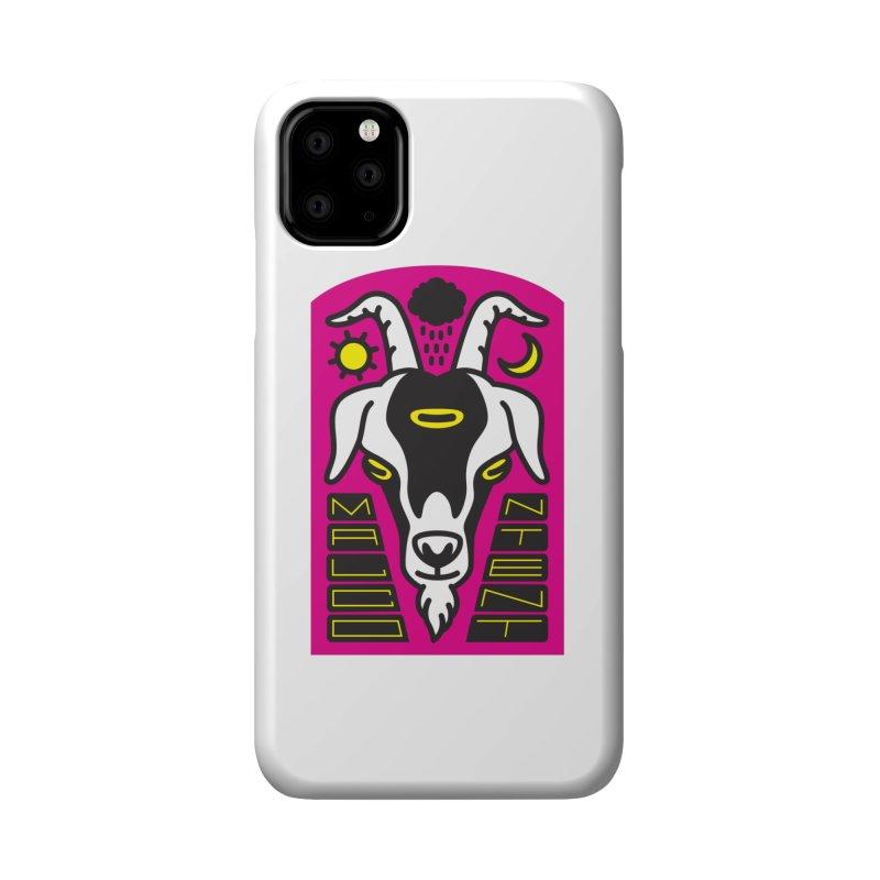 MALCONTENT Goat Accessories Phone Case by Rick Pinchera's Artist Shop