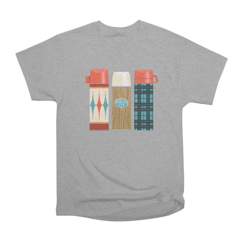 Vintage Vacuum Flasks Men's Heavyweight T-Shirt by Rick Pinchera's Artist Shop