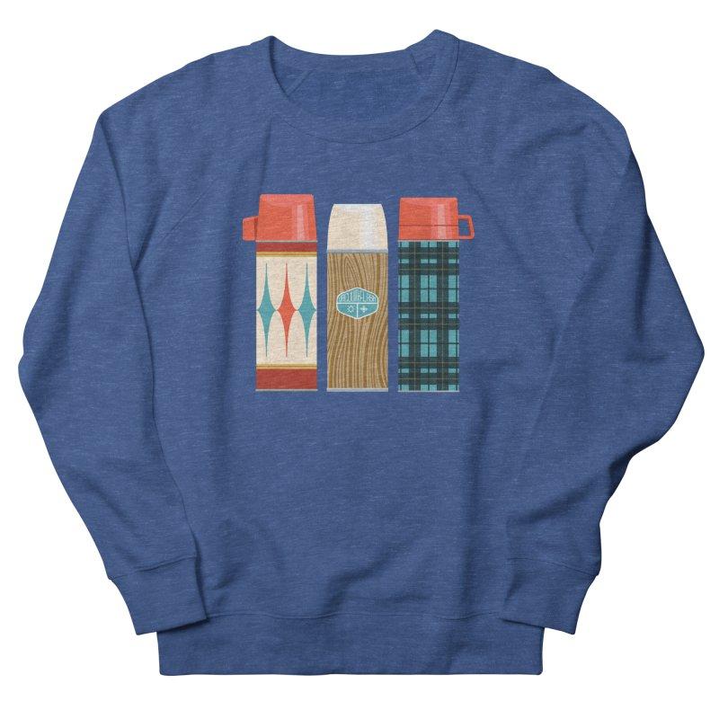 Vintage Vacuum Flasks Women's French Terry Sweatshirt by Rick Pinchera's Artist Shop