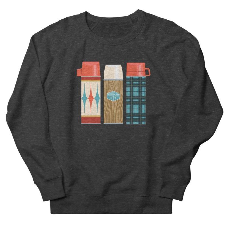 Vintage Vacuum Flasks Men's French Terry Sweatshirt by Rick Pinchera's Artist Shop