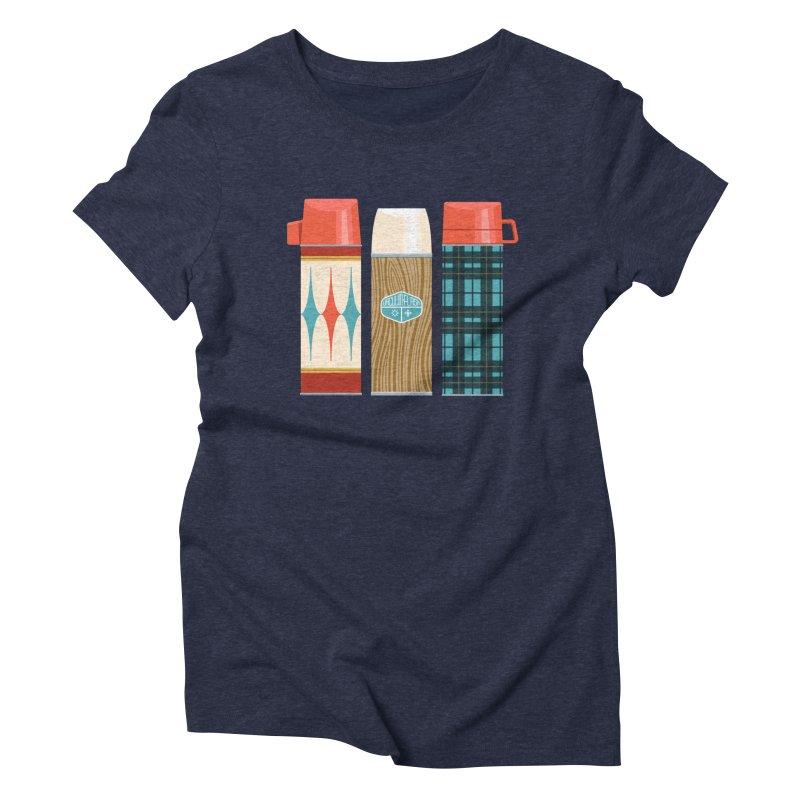Vintage Vacuum Flasks Women's T-Shirt by Rick Pinchera's Artist Shop