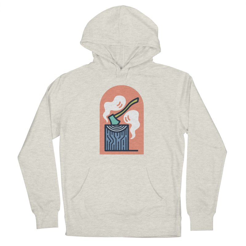 Ghosts Men's French Terry Pullover Hoody by Rick Pinchera's Artist Shop