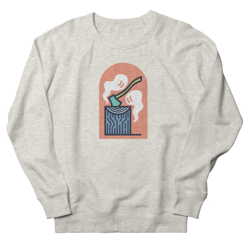 Ghosts Men's French Terry Sweatshirt by Rick Pinchera's Artist Shop