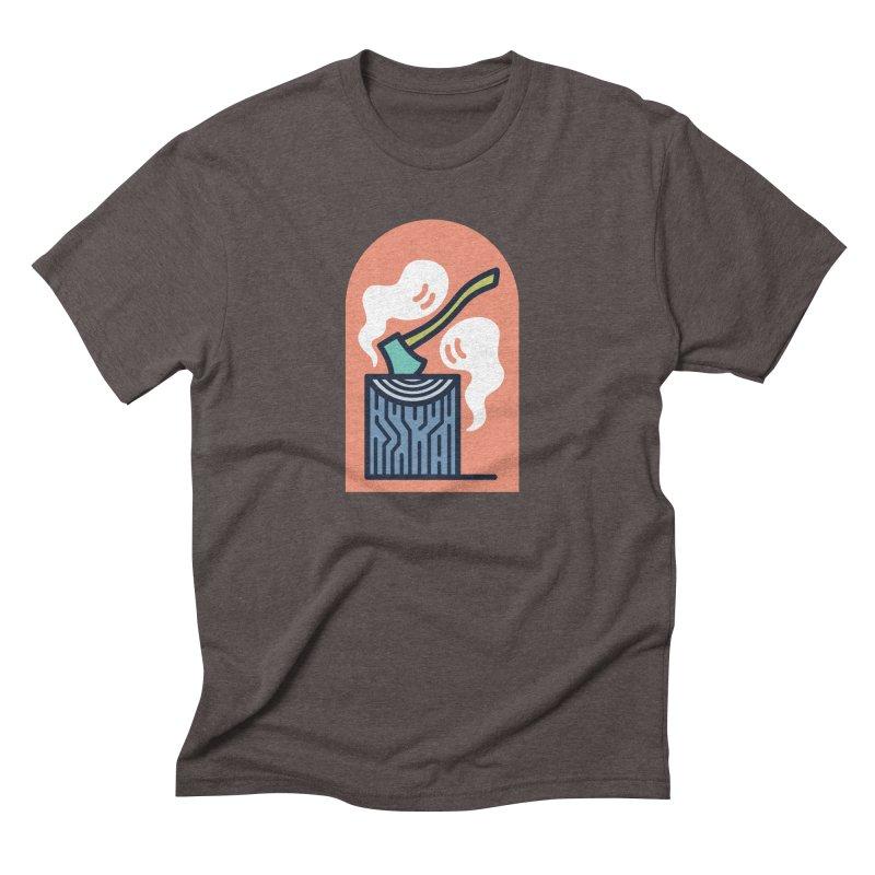 Ghosts Men's Triblend T-Shirt by Rick Pinchera's Artist Shop
