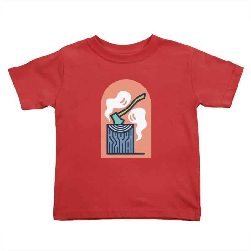Ghosts Kids Toddler T-Shirt by Rick Pinchera's Artist Shop