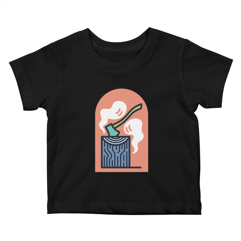 Ghosts Kids Baby T-Shirt by Rick Pinchera's Artist Shop