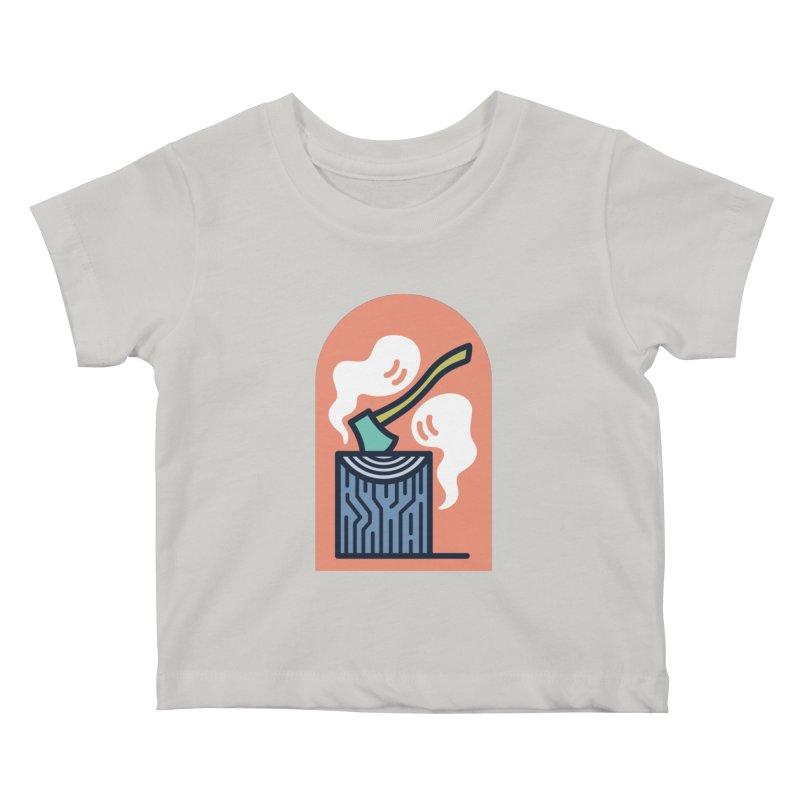 Ghosts Kids Baby T-Shirt by Rick Pinchera's Artist Shop