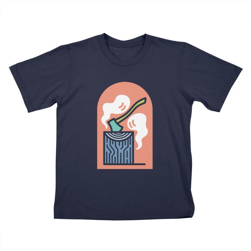 Ghosts Kids T-Shirt by Rick Pinchera's Artist Shop
