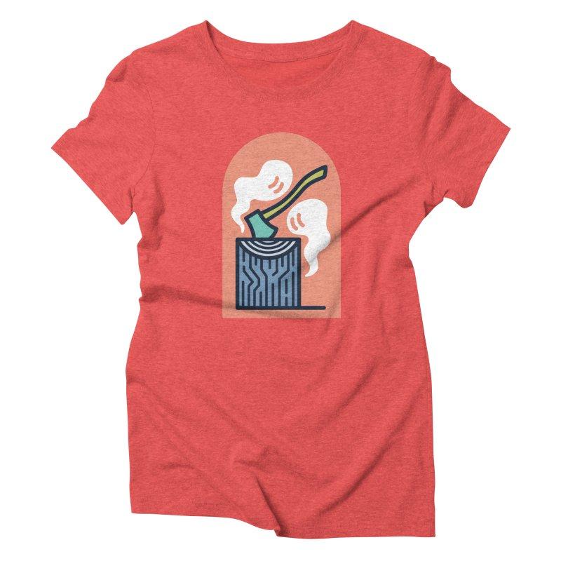 Ghosts Women's Triblend T-Shirt by Rick Pinchera's Artist Shop