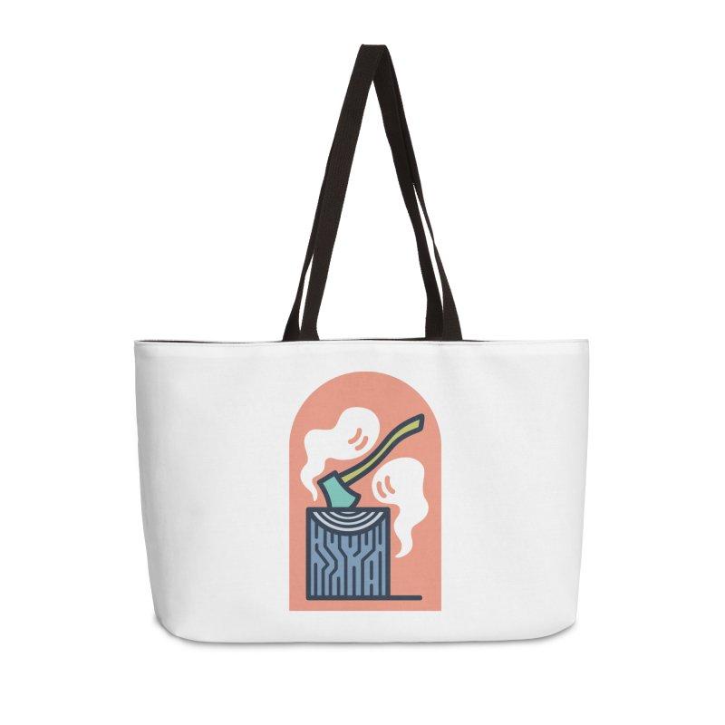 Ghosts Accessories Weekender Bag Bag by Rick Pinchera's Artist Shop