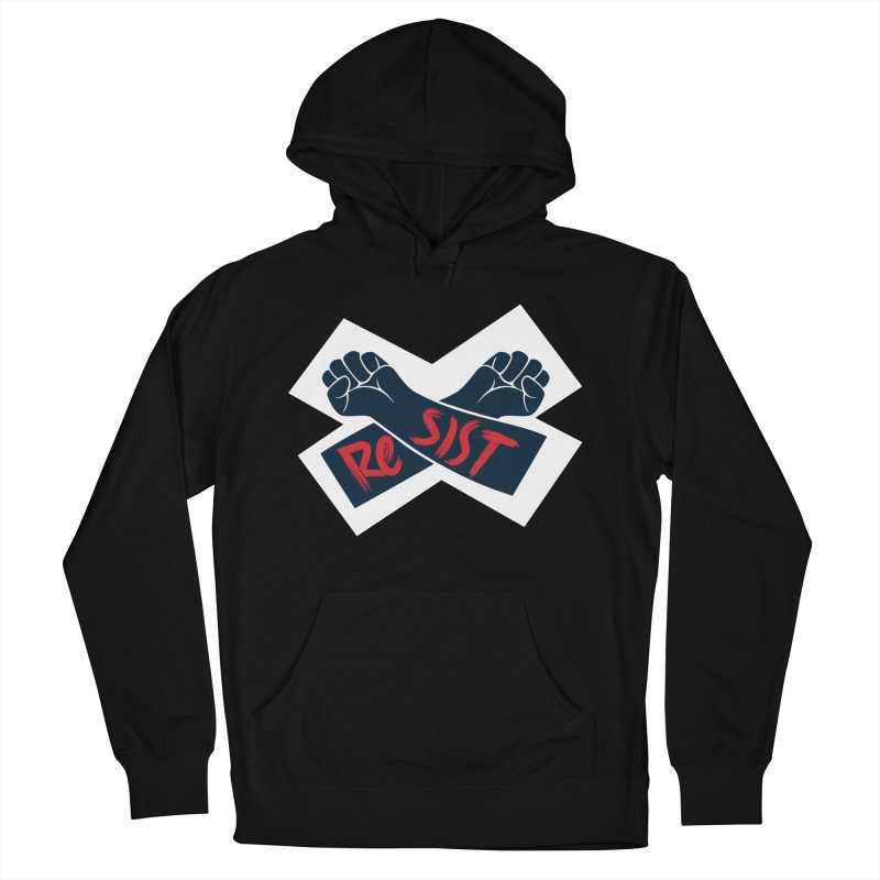 RESIST Women's French Terry Pullover Hoody by Rick Pinchera's Artist Shop