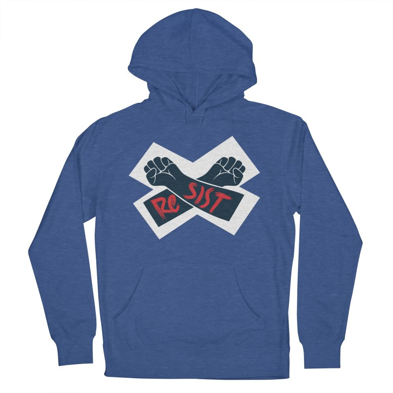 RESIST Men's Pullover Hoody by Rick Pinchera's Artist Shop