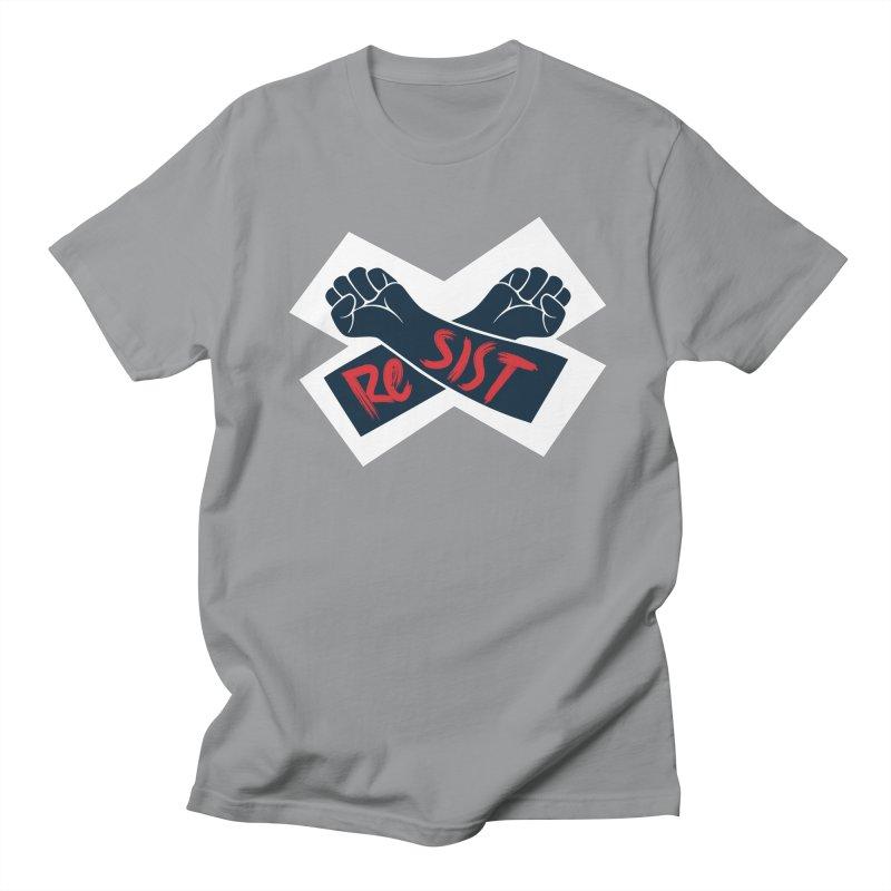 RESIST Men's T-Shirt by Rick Pinchera's Artist Shop