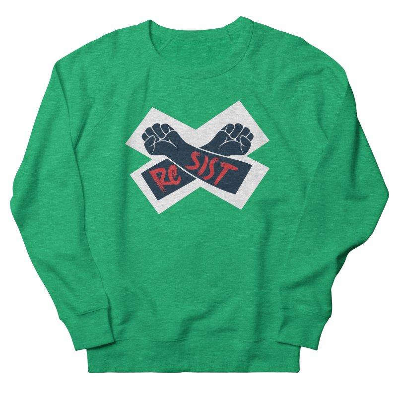 RESIST Women's French Terry Sweatshirt by Rick Pinchera's Artist Shop