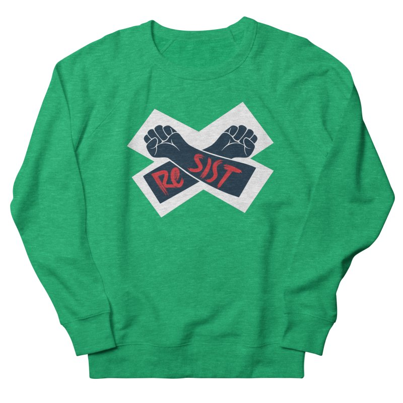 RESIST Men's French Terry Sweatshirt by Rick Pinchera's Artist Shop