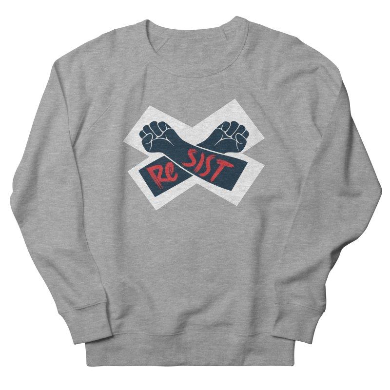 RESIST Men's French Terry Sweatshirt by Rick Pinchera's Artist Shop