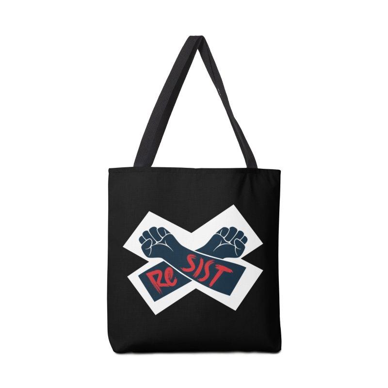 RESIST Accessories Bag by Rick Pinchera's Artist Shop