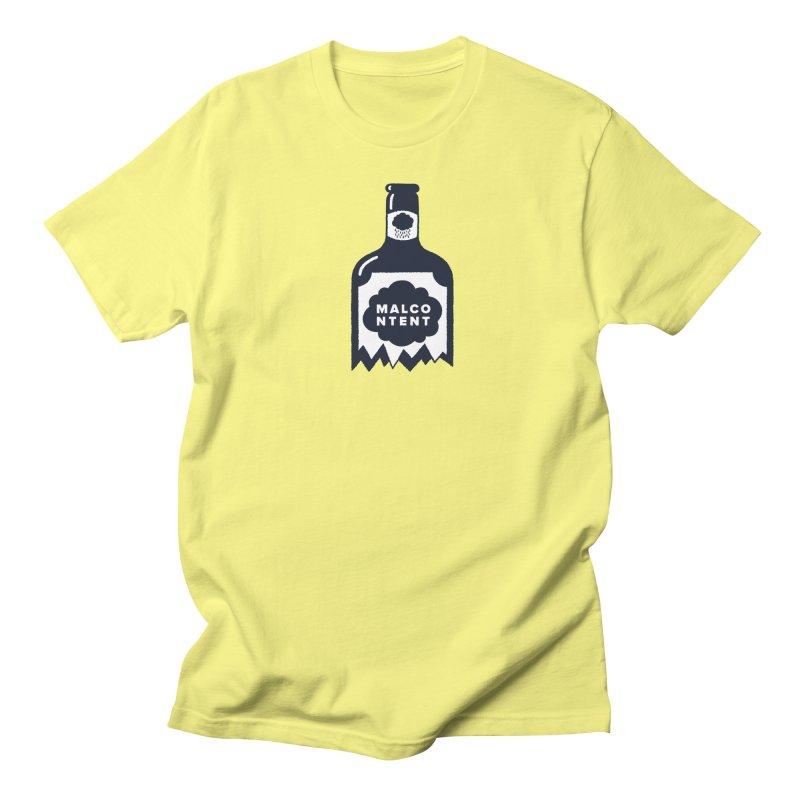 MALCONTENT Broken Bottle Men's T-Shirt by Rick Pinchera's Artist Shop